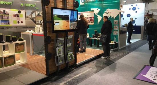 TERRADECK на международной выставке BAU 2017 в Мюнхене